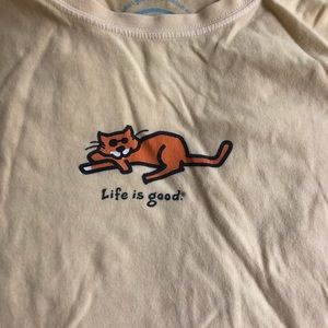 Life Is Good Tops - Life is Good t shirt